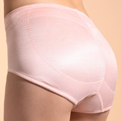 【曼黛瑪璉】魔幻美型 高腰三角修飾褲P1172(豆沙粉)