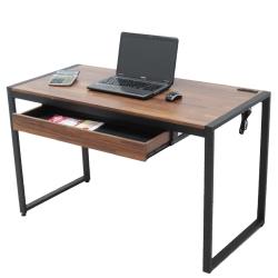 ALTO 128公分工業風 電腦桌 書桌 辦公桌 附電源插座