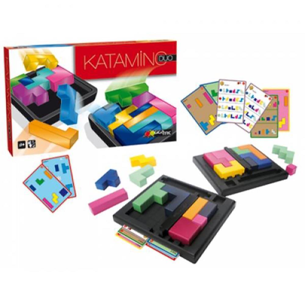 法國經典桌遊 GIGAMIC  挑戰金頭腦雙人版 KATAMINO DUO