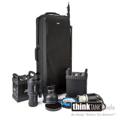 ThinkTank創意坦克-40吋滾輪式大型燈具行李箱-PM578