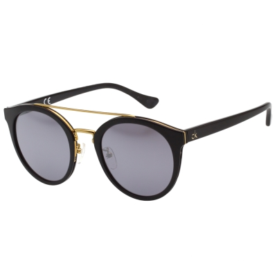 Calvin Klein- 水銀面 太陽眼鏡(黑色)CK4339SK