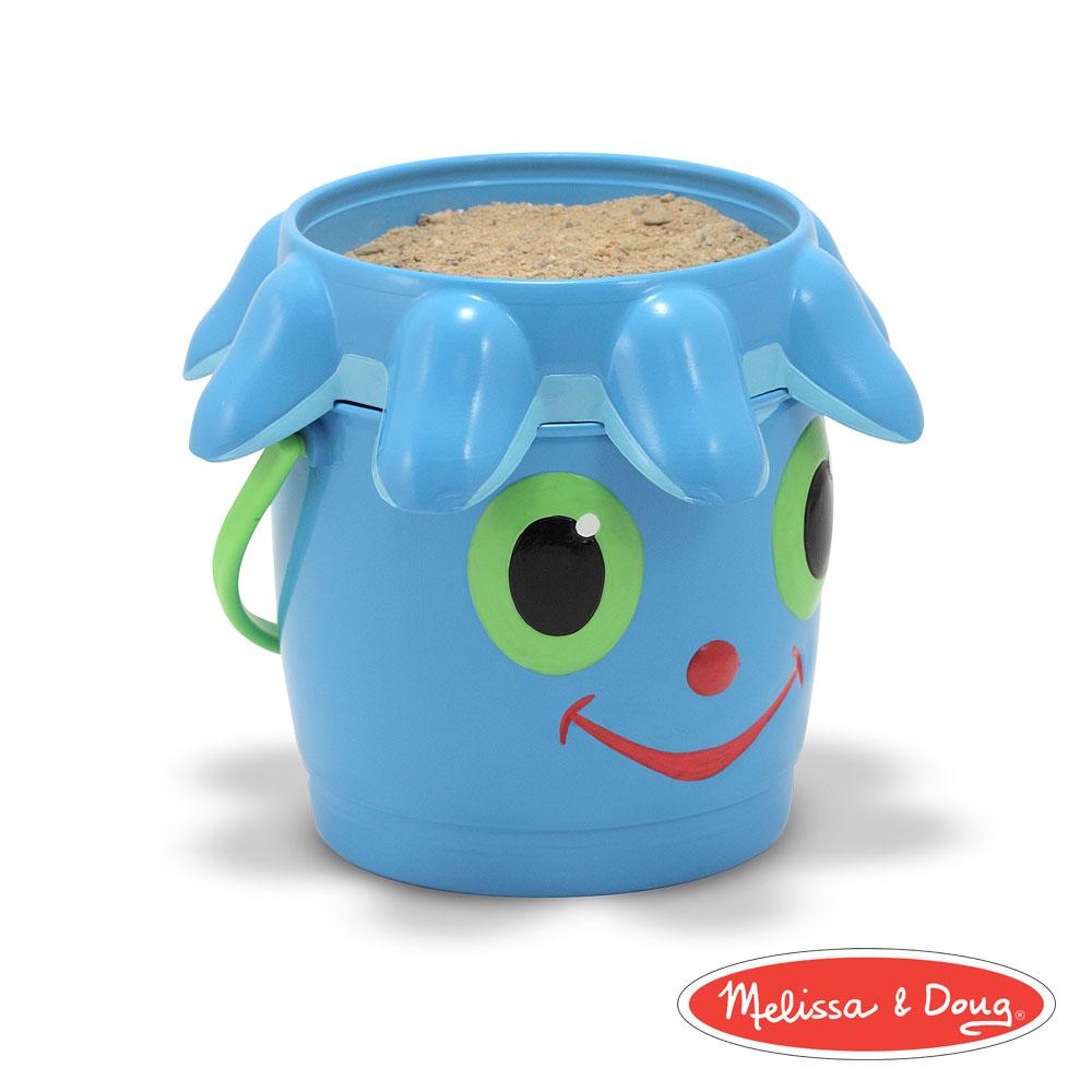 美國瑪莉莎 Melissa & Doug 卡通造型玩沙篩桶組 - 章魚菲力