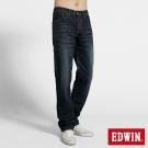 EDWIN 大尺碼中直筒 503 NARROW牛仔褲-男-酵洗藍