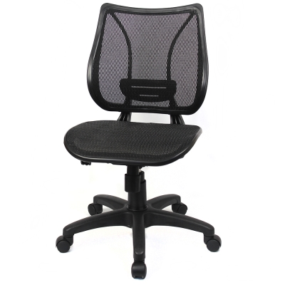 aaronation愛倫國度 - 微笑機能 - 辦公/電腦網椅(DW-2328無手)