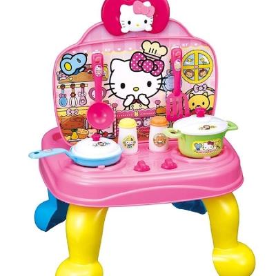任選 日本 凱蒂貓HELLO KITTY廚房收銀兩用遊戲組 AG31383 原廠公司貨