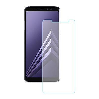 【SHOWHAN】Samsung A8 (2018) 9H鋼化玻璃貼疏水疏油高清抗指紋