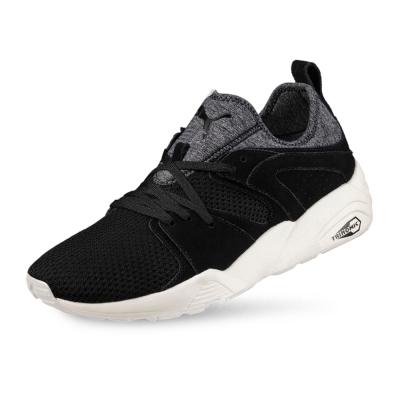 PUMA-Blaze CT 男女復古慢跑運動鞋-黑色