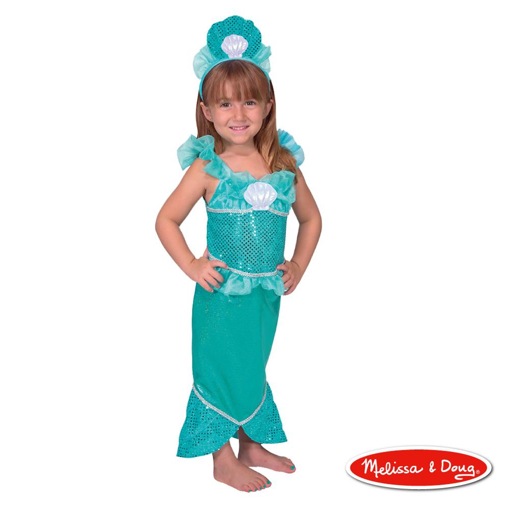 美國瑪莉莎 Melissa & Doug 角色扮演 - 美人魚服遊戲組