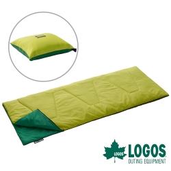 【日本LOGOS】ROSY多用途丸洗睡袋17℃-72600980