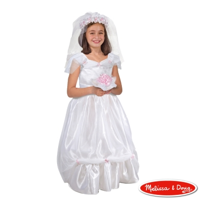 (萬聖節任選) 角色扮演 - 新娘白紗服遊戲組