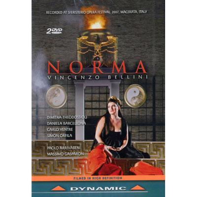 貝里尼:歌劇《諾瑪》 2DVD