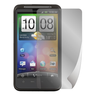 ZIYA HTC Desire HD  抗刮螢幕保護貼 (兩入裝)