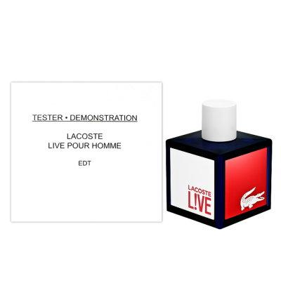 Lacoste L!VE 極刻活力淡香水 100ml Tester 包裝