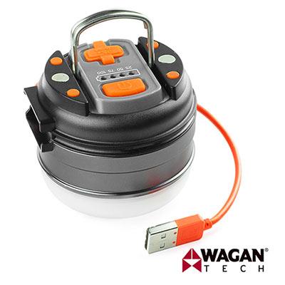 美國 WAGAN 多功能 磁吸式 LED 手電筒 工作燈 露營燈 (4302)