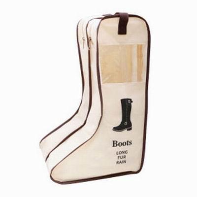 iSFun 鞋類收納 立體透視靴子防塵鞋袋 長版隨機色24x47x29cm