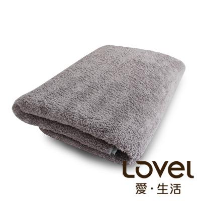 LOVEL 7倍強效吸水抗菌超細纖維浴巾(共9色)