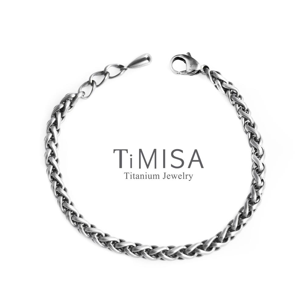 TiMISA 所羅門 純鈦手鍊