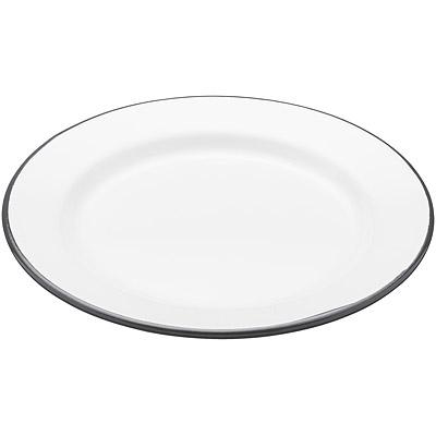 KitchenCraft 復古琺瑯淺餐盤(圓24cm)