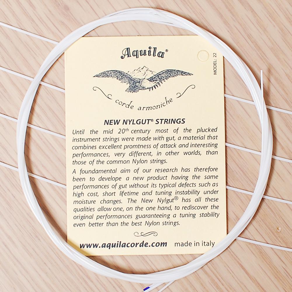 Aquila Ukulele 義大利製 烏克麗麗弦 (21吋專用/3組裝)