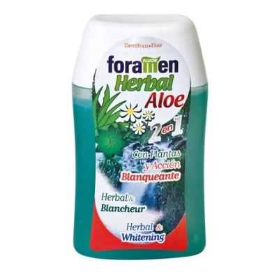西班牙Foramen <b>2</b>合1濃縮牙膏漱口水100ml/120g(蘆薈)