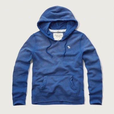 AF a&f Abercrombie & Fitch 帽T 藍色 0360