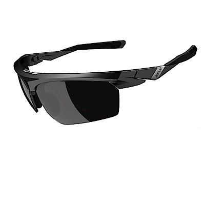 【ADHOC】運動太陽眼鏡-鍍膜鏡片-半框式 BLADE