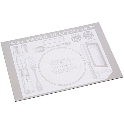 KitchenCraft 可書寫餐墊紙24入