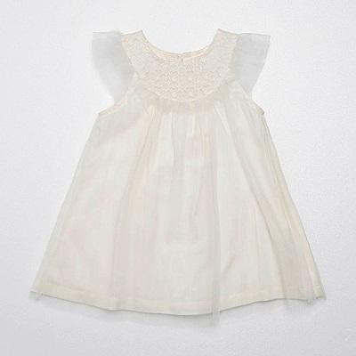 PIPPY 蕾絲禮服小洋裝 白