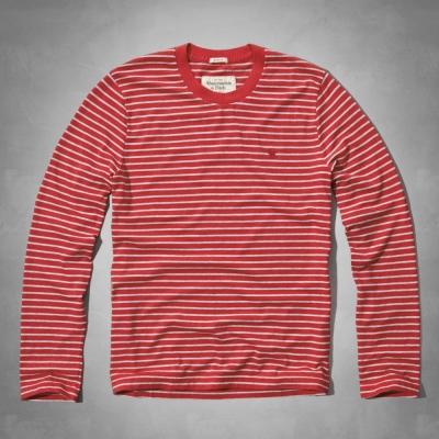 AF a&f Abercrombie & Fitch 長袖 T恤 紅色 157