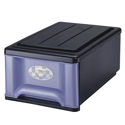 收納王-20L抽屜整理箱-3入-兩色可選