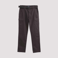 Hang Ten - 男裝 - 休閒口袋工作褲 - 橄欖