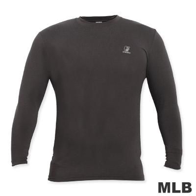 MLB-高領熱力棉T恤-深灰(男)