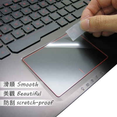 EZstick ASUS FX553 VD 專用 TOUCH PAD 抗刮保護貼