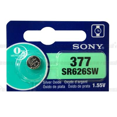 SONY鈕扣型電池SR626SW 5入