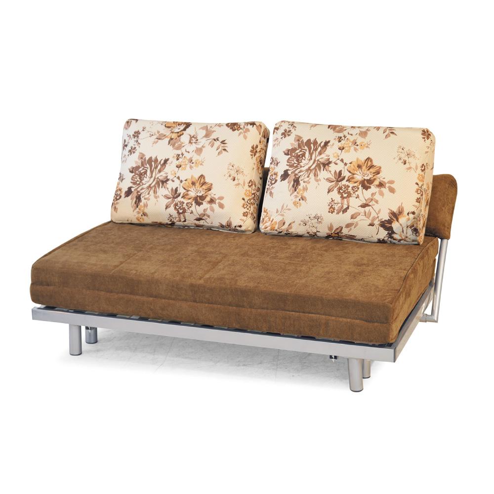 品家居 范特布面功能沙發床-155x100x80cm-免組
