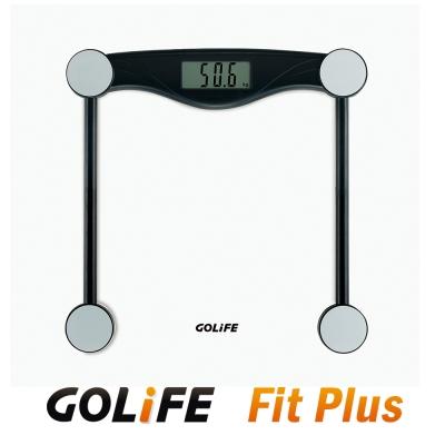 GOLiFE Fit Plus藍牙智慧BMI電子體重計(by PAPAGO)-黑-快速到貨