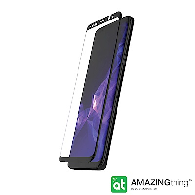 AmazingThing 三星 Galaxy S9+(2018) 滿版強化玻璃保...