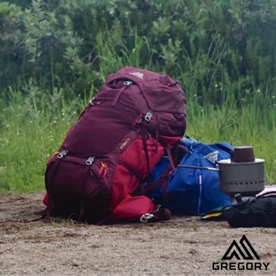 Gregory AMBER 60L 登山背包 女 辣椒紅
