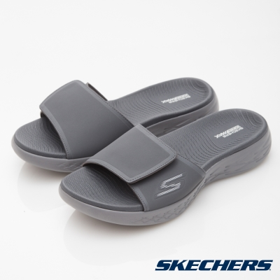 SKECHERS(男)休閒系列ON THE GO CITY600拖鞋-55355CHAR