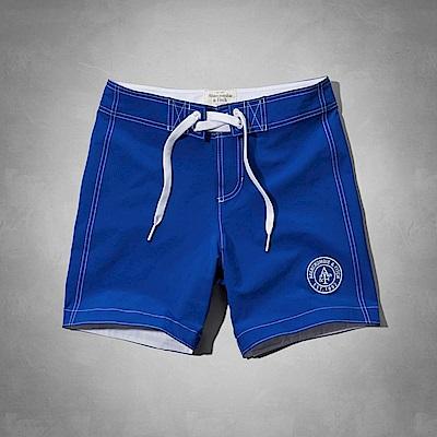 AF a&f Abercrombie & Fitch 短褲 藍色 0802