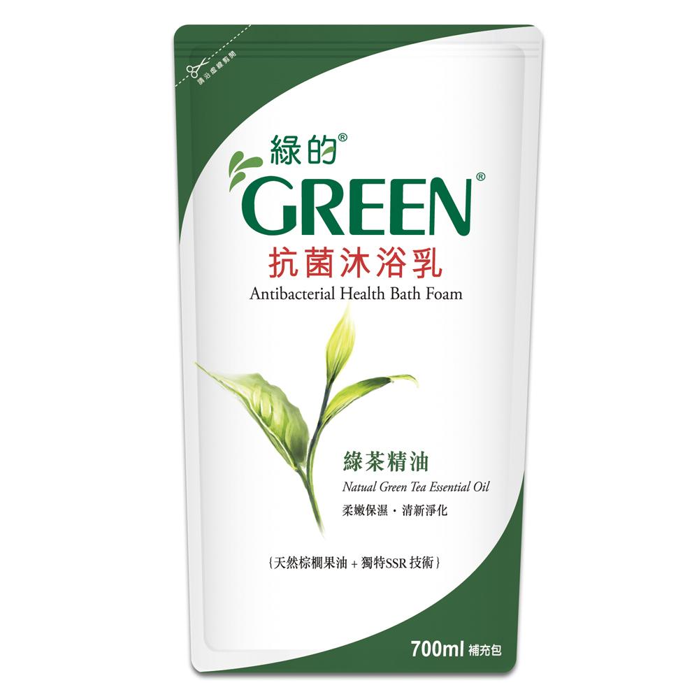 綠的GREEN 抗菌沐浴乳-綠茶精油700ml*1