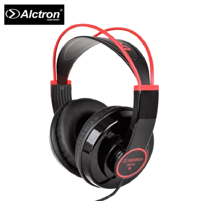 ALCTRON HP280 專業耳罩式耳機 紅色線條耀岩黑色款