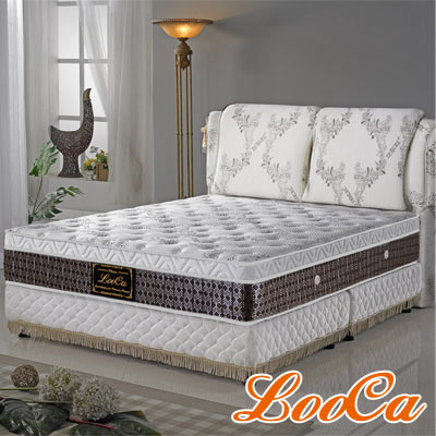 LooCa 至尊旗艦天絲獨立筒床(雙人)