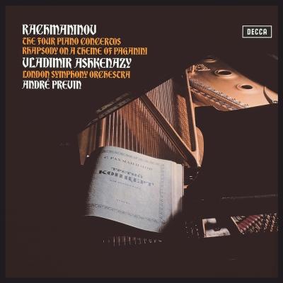 拉赫曼尼諾夫-鋼琴協奏曲全集-黑膠限量版-3LP