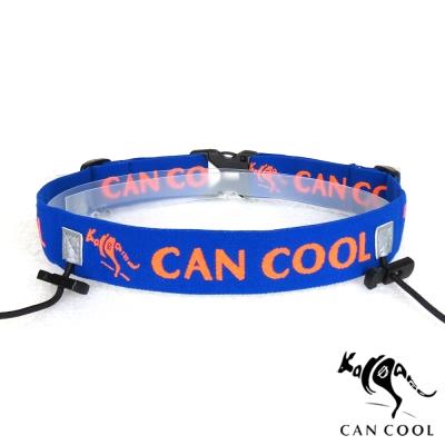 CAN COOL敢酷 25mm寬 C160313002(無補給)運動號碼帶(藍橘)