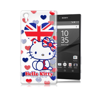 三麗鷗Hello Kitty SONY Z5 Premium 樂園系列手機殼(英...