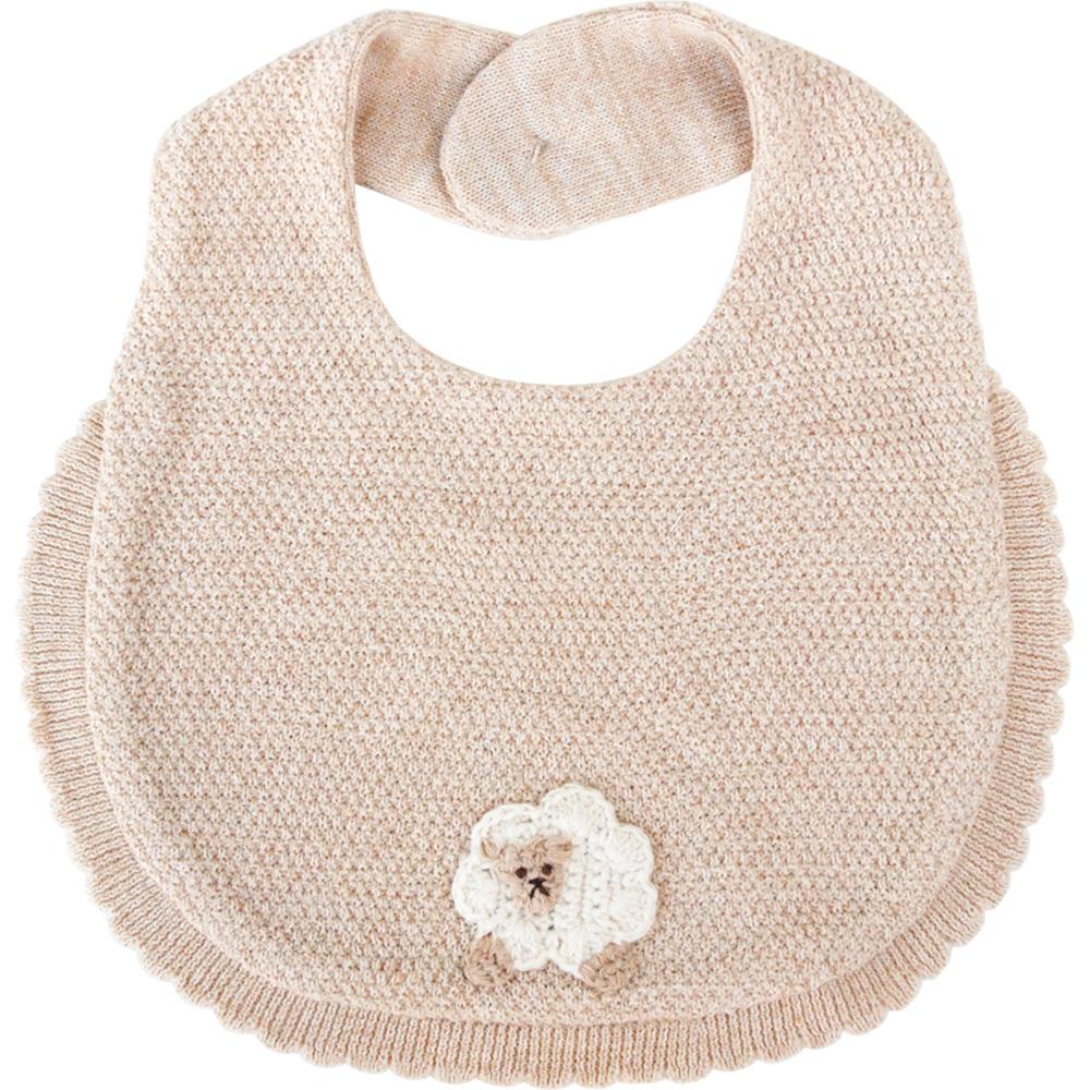 【Hoppetta*】有機棉針織口水巾(綿羊)
