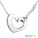 AchiCat 珠寶白鋼項鍊 啟動快樂(銀色)
