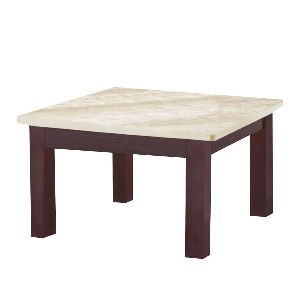 Boden-尼提2.2尺石面小茶几-65x65x45cm