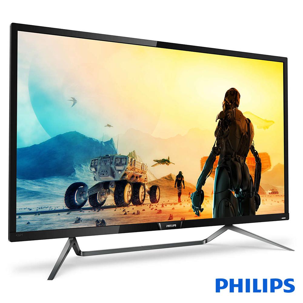 Philips 436M6VBRAB (黑)42.5吋寬 4K HDR液晶顯示器